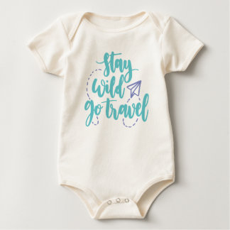 Simple Stay Wild Go Travel | Bodysuit