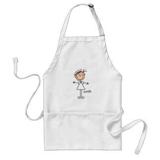 Simple Stick Figure Nurse T-shirts and Gifts Standard Apron