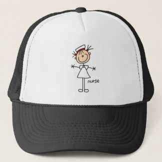 Simple Stick Figure Nurse T-shirts and Gifts Trucker Hat