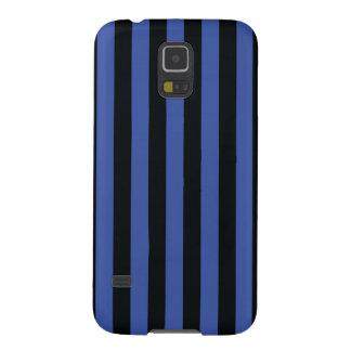 Simple Strip Black Blue Case Galaxy S5 Cover
