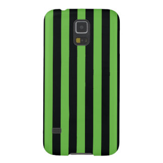 Simple Strip Black Green Case Galaxy S5 Covers