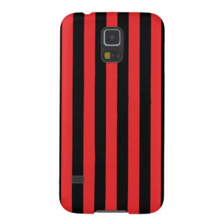 Simple Strip Black Red Case Case For Galaxy S5