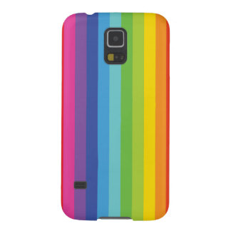 Simple Strip Color Full Case Galaxy S5 Cases