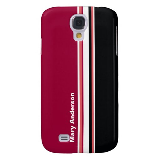 Simple Stripes Galaxy S4 Cases