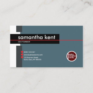 A founder business cards zazzle uk simple stylish founder ceo businesswoman business card colourmoves