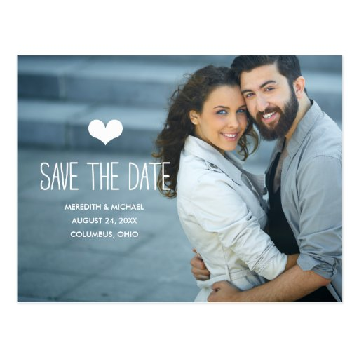 Simple & Sweet | Photo Save the Date Postcards