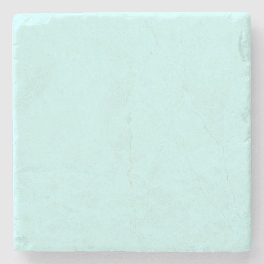 Simple Teal Solid Colour Coaster