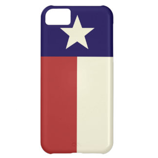 Simple Texas Flag iPhone 5C Case