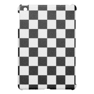 Simple textured checkerboard case for the iPad mini