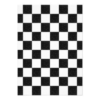 Simple textured checkerboard invites