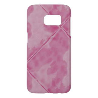 Simple Tile Ceramic Surface Pink
