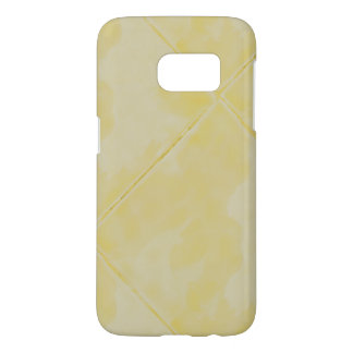 Simple Tile Ceramic Surface Yellow