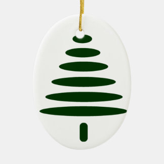 Simple Tree Christmas Ornament