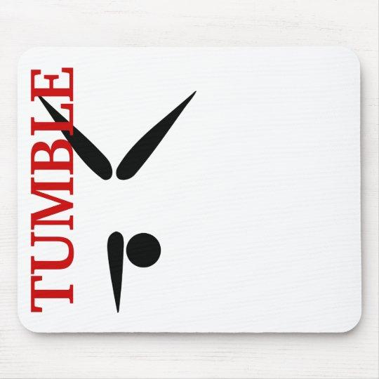 Simple Tumbler Gymnast Gymnastics Symbol Mouse Mat