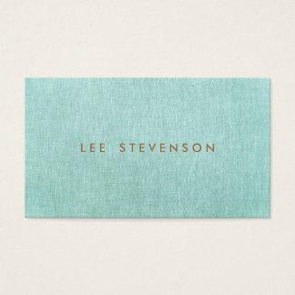 Simple, Turquoise Blue, Stylish Minimalist