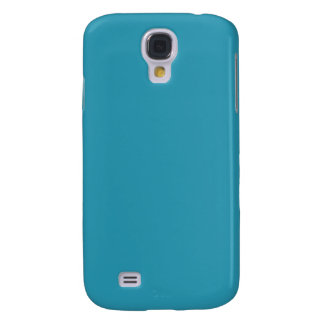 Simple Turquoise Color Galaxy S4 Cover