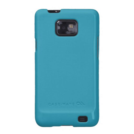 Simple Turquoise Color Samsung Galaxy SII Covers