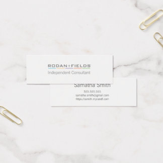 Simple, unique Rodan and Fields Business Cards