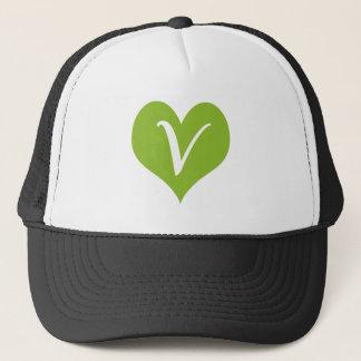 Simple Vegan Graphic Trucker Hat
