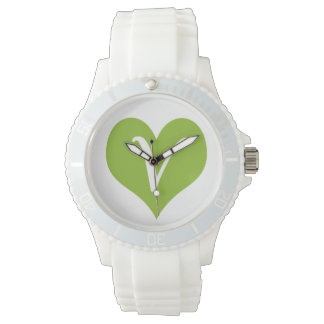 Simple Vegan Icon Wristwatch