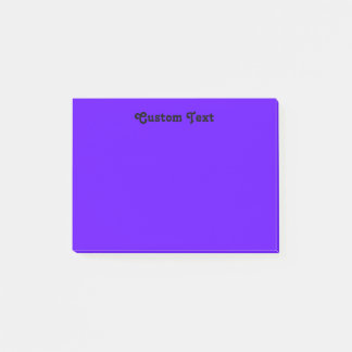 Simple Violet/Indigo Post-it Notes
