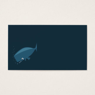 Simple Whale Business Card