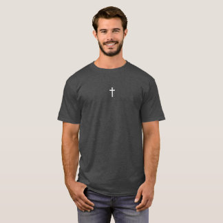 Simple White Cross T-Shirt