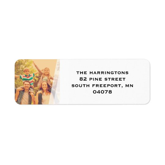 Simple Wrap Return Address Label