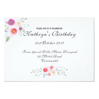 Simple yet Elegant Floral, Peony Watercolor Card