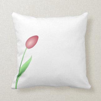 Simple yet Elegant Tulip Throw  Pillow