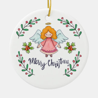 Simple yet Lovely Christmas Angel | Ornament
