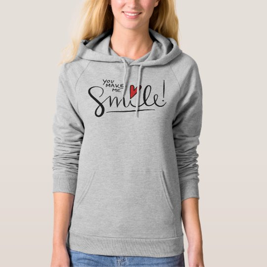Simple yet Pretty You Make Me Smile | Hoodie