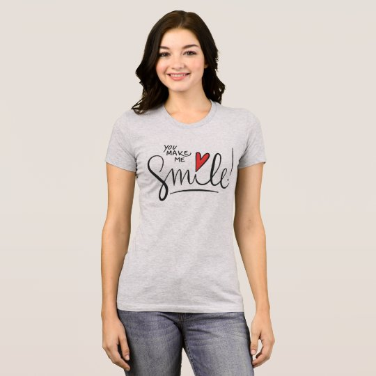 Simple yet Pretty You Make Me Smile | Jersey Shirt
