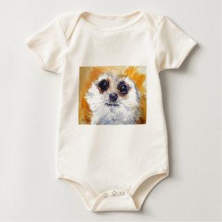Simples! Meerkat Baby Bodysuit