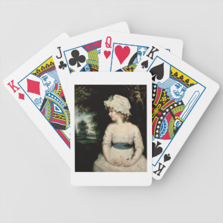 Simplicity - A Portrait of Miss Theophilia Ghatkin Bicycle Playing Cards