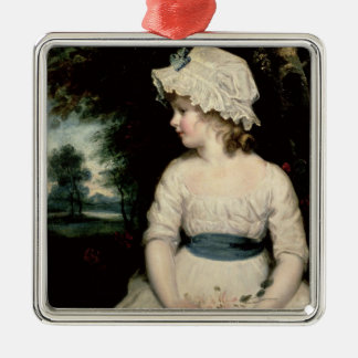 Simplicity - A Portrait of Miss Theophilia Ghatkin Christmas Ornament