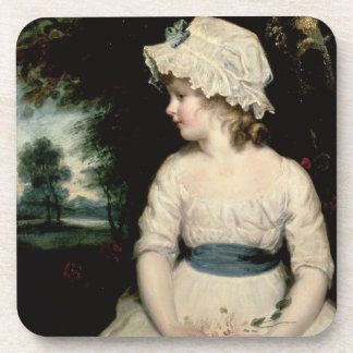 Simplicity - A Portrait of Miss Theophilia Ghatkin Coaster