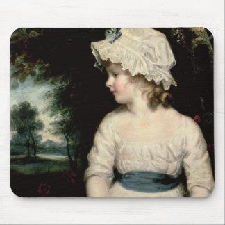 Simplicity - A Portrait of Miss Theophilia Ghatkin Mouse Mat