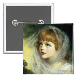 Simplicity and Innocence, 1900 15 Cm Square Badge