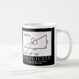 Simplicity: Coffee Mug