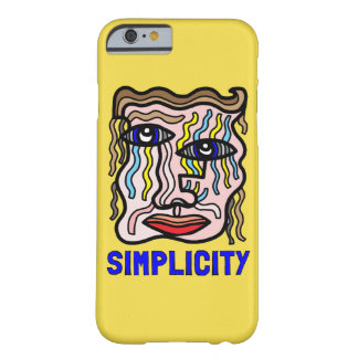 """Simplicity"" Glossy Phone Case"