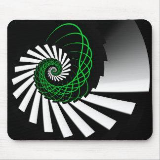 Simplicity Green Mousepad