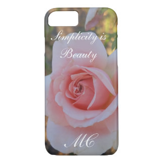 Simplicity is Beauty iPhone 7, Barely There iPhone 7 Case