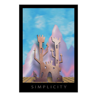 Simplicity Posters
