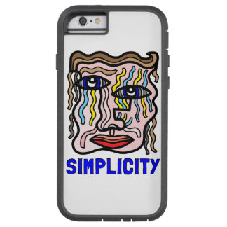 """Simplicity"" Tough Xtreme Phone Case"