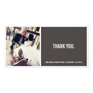 SIMPLICITY | WEDDING THANK YOU CARD PICTURE CARD