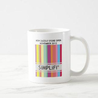 SiMPLiFi New Zazzle Store Basic White Mug