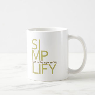 Simplify Coffee Mug
