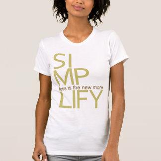 Simplify Tshirts