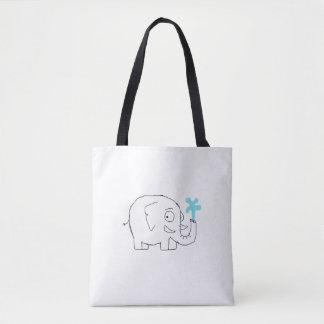 Simplistic Elephant Bag